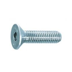 Parafuso cabeça chata aço zincado 10,9 - DIN 7991 - ISO 10642