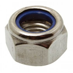 Porca autoblocante (Inox A4) - DIN 985 - ISO 7042
