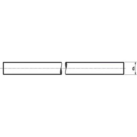 Varão Roscado 1 metro (Nylon 6.6) - DIN 976