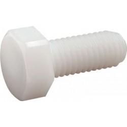 Parafuso cabeça sextavada (Nylon 6.6) - DIN 933 - ISO 4017